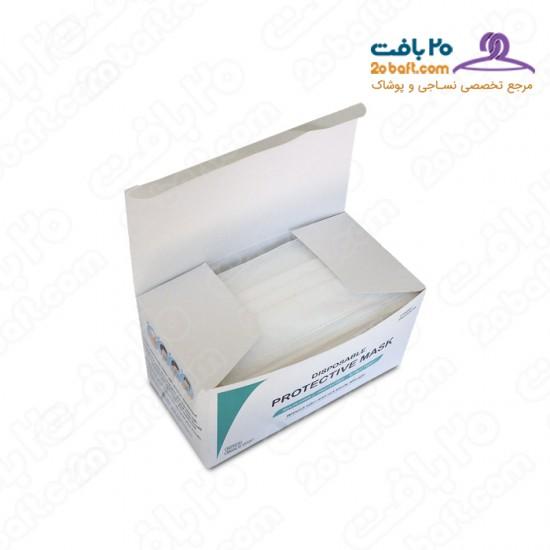 ماسک پرستاری سه لایه ملت دار مدل M2