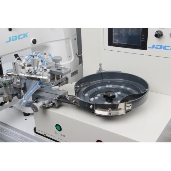 چرخ دکمه زن اتوماتیک فیدردار جک مدلJK-T1903GR